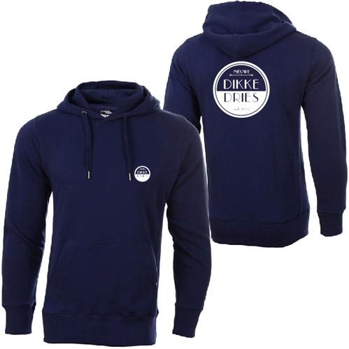 dikke-dries-hoodie-navy-logo