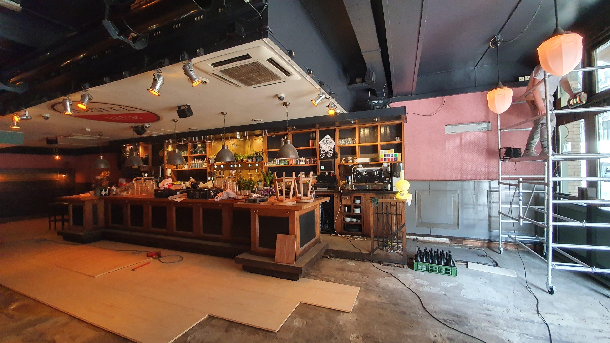Vloer en bar